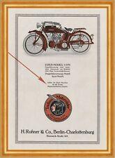 Indian Motorräder Roßner Berlin Charlottenburg Plakat Braunbeck Motor A3 299