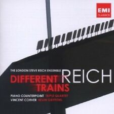 Londres steve reich ensemble-different trains/piano Counter CD article neuf
