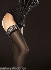 Glossy stay up stockings Contessa by Fiore 40 den shiny semi-opaque hold ups