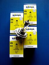 4x H4 Autolampe 12 Volt 60/55 Watt (Sockel P43t-38)NARVA  #48881 Scheinwerferl.