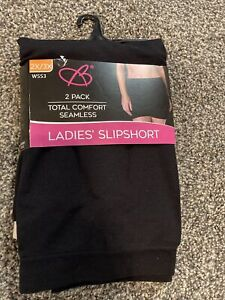 Bobbie Brooks Seamless Lady Slipshort 2x/3x