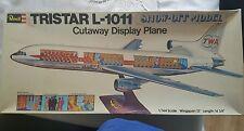 1/144 LOCKHEED TRISTAR Cutaway Plastic Model Kit
