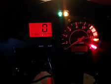 ROJO triumph 955i daytona conducido tablero reloj conversión kit lightenUPgrade