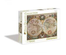 Clementoni 31229 Carte Antique 1000 Pieces High Quality Collection Jigsaw Puzzle