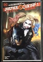 JUSTICE LEAGUE vs SUICIDE SQUAD #1 ASHLEY WITTER VARIANT NM 2017 HARLEY QUINN