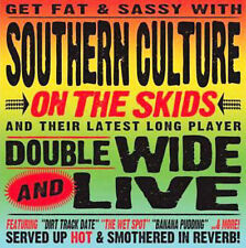 ~DAMAGED ARTWORK CD Southern Culture on the Skids: Doublewide & Live