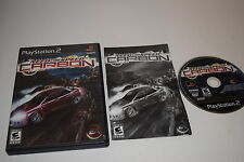 Need for Speed Carbon Sony Playstation 2 PS2 Video Game Complete