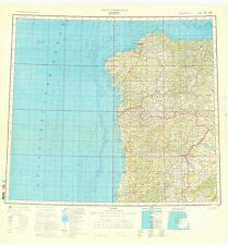 Russian Soviet Military Topographic Maps – PORTU (Portugal), 1:1M, ed. 1986