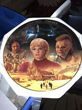 Rare 1996 Star Trek New Beginnings Plate The Hamilton Collection Kes & Neelix