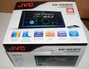 JVC KW-SX83BTS Double DIN Digital Bluetooth Media Receiver