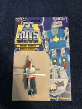 Vintage 1982 Tonka Bandai Gobots Cop-Tur Helicopter 100% Complete W/card back