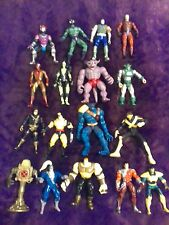 "VINTAGE 1990's-2000's Marvel 5 to 6""Action Figures Mixed Lot of 17( Toy Biz )"