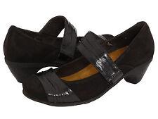 NAOT ATTITUDE BLACK MARY JANE DRESS PUMP HEEL~40 / 9