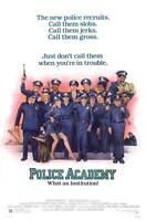 POLICE ACADEMY Movie POSTER 27x40 B Steve Guttenberg Kim Cattrall Bubba Smith