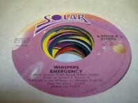 Soul 45 THE WHISPERS Emergency on Solar