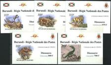 Mint S/S imperforate Fauna Dinosaurs 2012 from Burundi avdpz