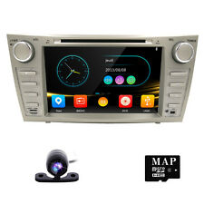 "8"" Car DVD Player GPS Navi System For Toyota Camry 2007-2011 Free Camera & Map"