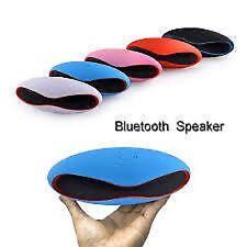 PORTABLE WIRELESS BLUETOOTH MINI STEREO SPEAKER FM RADIO USB/MICROSD-