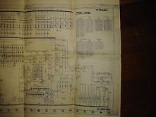 Vintage Bally Twist Pinball Electrical Schematic