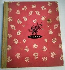 The Story of Ferdinand Muno Leaf Flat-Signed Early Edition 1938 14th printing