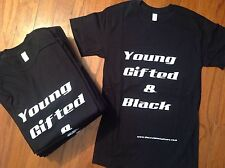 Young Gifted & Black Hip Hop T-Shirt Big Daddy Kane Aretha #Blacklivesmatter