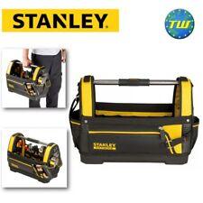 """Stanley FatMax 18"""" BOCCA APERTA Tote Bag con fondo in plastica impermeabile 1-93-951"""
