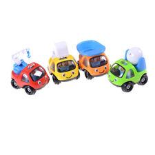 Baby Mini Cartoon Inertia Toy Car Pull Back Truck Beach Toys For Gifts Kids EV