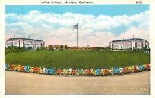 Modesto California~Junior College~1920s Postcard