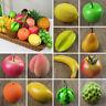 Lifelike Artificial Fake Fruit Vegetable Plastic Foam Decorative Fruits Props