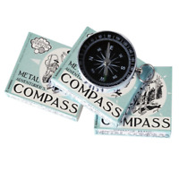 House of Marbles Adventurers Metal Compass Camping Tool Boys Gift