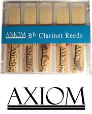 Axiom Clarinet Reed 2.5 - Box of Ten Quality Clarinet Reeds