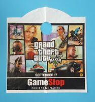 GRAND THEFT AUTO V GTA 5 Gamestop Exclusive Promo Shopping Bag Rockstar Games