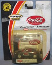 """Coca-Cola, Coke 3"""" MGF 1,8i Convertible Car- Matchbox Collectibles-In Package"""