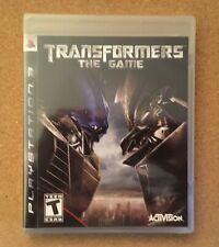 Transformers: The Game Sony PlayStation 3 PS3 Activision New