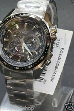 EQS-500DB-1A1 Black Casio Men Watches Edifice Perpetual Calendar Solar power