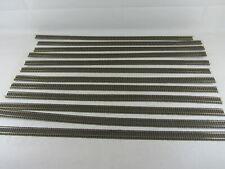 Fleischmann Profigleis-Konvolut (IV), 12 Flex-Gleise, gebraucht, teils gekürzt