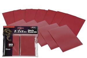 Deck Guards Elite Sleeves (240) for Pokemon , magic the gathering MTG (3 packs)