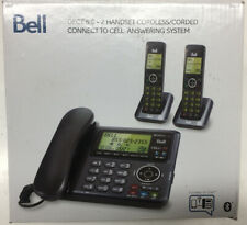 OEM Original Bell BE6641-2 DECT 6.0 Corded/Cordless Phone with 2 Handsets USED!
