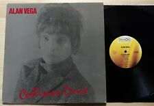 ALAN VEGA Collision Drive LP Record UK 1981 Original Nr Mint Vinyl Rare Suicide
