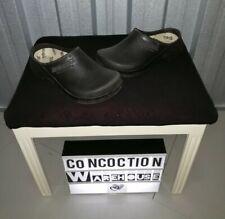 Birkenstock black slip on foam clogs. Size 8.