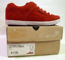 Circa Womens 205 Wslim Vulc Red Size 7.5