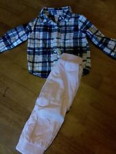 Carter's two piece outfit girls size 18 mos,  pretty!