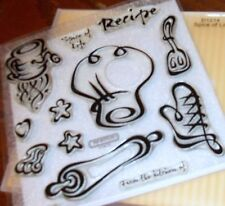 CTMH D1214 SPICE OF LIFE ~ Sifter, CHEF HAT, From the Kitchen of:, ROLLING PIN