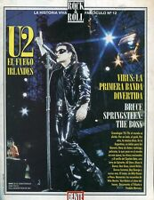 U2 & Bruce Springsteen Rock & Roll Magazine # 12 Argentina