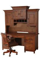 Custom Built | NEW | Solid Wood | Fully Customizable | Steven's Wall Desk