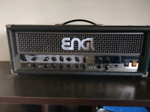 Engl powerball I amp head and Gig case black metal djent