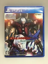 USED PS4 Devil May Cry 4 Special Edition Japan Import Official