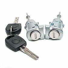 Audi A6 Skoda Superb  New Front LH Passenger & RH Driver Door Lock Barrel Keys