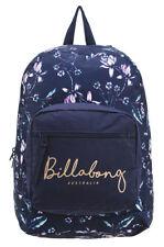 BILLABONG GIRLS NEW BACKPACK BAG SCHOOL WOMENS LADIES GYM UNI NAVY NIGHTSHADE