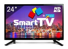 "Televisor LED 24"" NPG Smart TV Android 7.1 HD PVR WiFi TDT2 H.265"